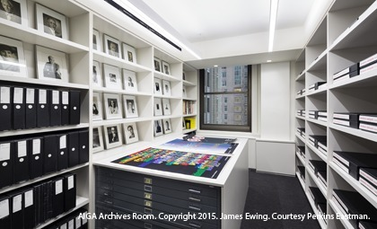 AIGA Archives Room