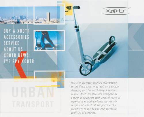 Xootr Scooter brand development