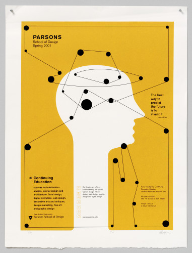 Parsons Spring 2001 poster