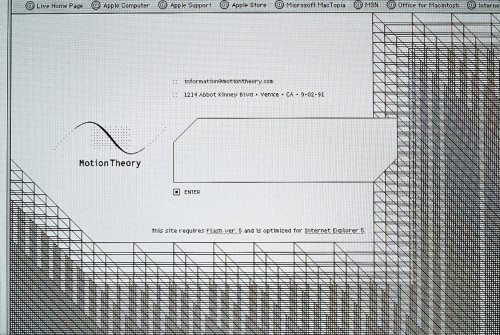 Motion Theory website