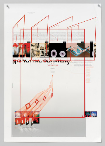 """Not Yet the Periphery"" poster"