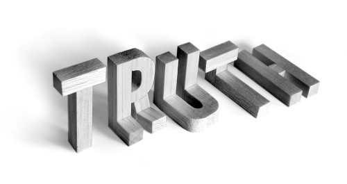 """Truth"" photo illustration"