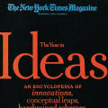 """The Year in Ideas"" issue"