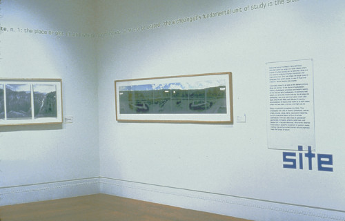"""The Great Wide Open: Panoramic Photographs of the American West"" exhibition"