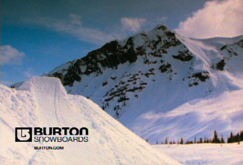 "Burton ""One Hit"" promotional spot"
