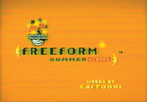 """Freeform Summer Poems"" spots"
