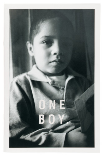 "Evan's Life Foundation ""One Boy"" brochure"