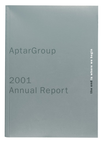 AptarGroup 2001 annual report