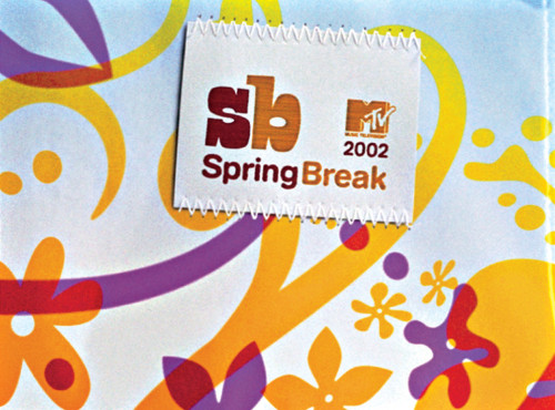 "MTV ""Spring Break 2002"" show packaging"