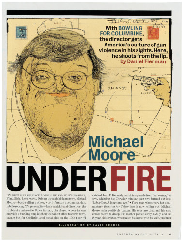 """Michael Moore Under Fire"""