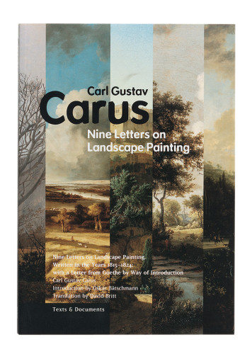 Nine Letters on Landscape Painting book