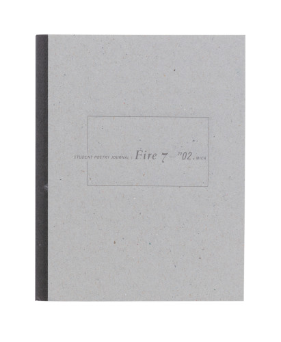 Student Poetry Journal: Fire 7-2002 book