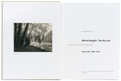 Alfred Stieglitz: The Key Set books