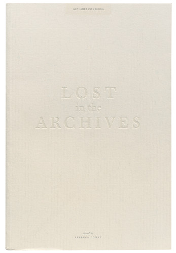 Alphabet City #8: Lost in the Archives book