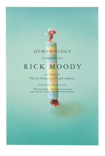 Rick Moody paperback series covers