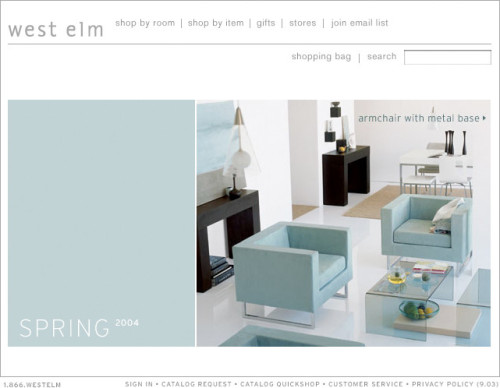 West Elm Brand Development