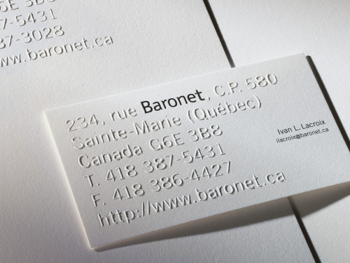 Baronet Stationery