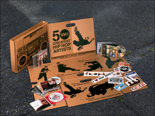 50 Greatest Hip Hop Artists breakdance box