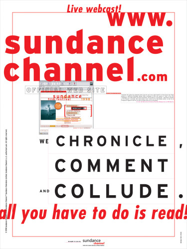 """Sundance Channel"" poster"