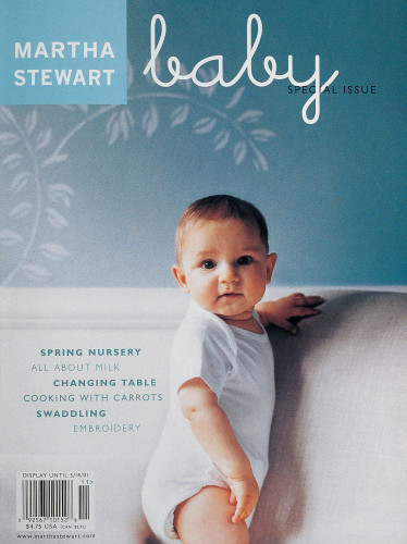 Martha Stewart Baby special issue magazine cover