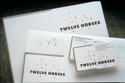 Twelve Horses stationery program