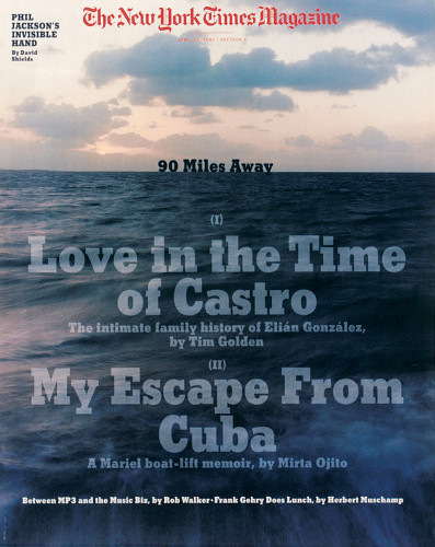 """Love in the time of Castro"" cover"