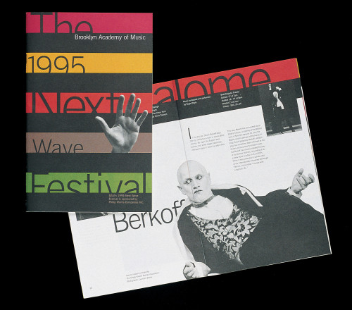 Next Wave Festival subscription brochure