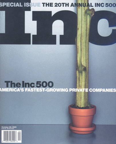 Inc magazine special issue, October 30, 2001