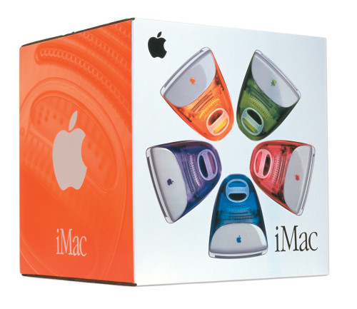 iMac packaging