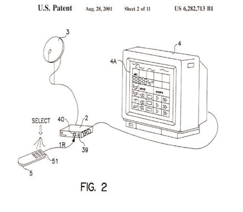 U.S. Patent 6,282,713: Method and Apparatus for Providing On-Demand Electronic Advertising