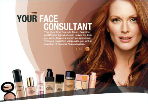 Revlon website