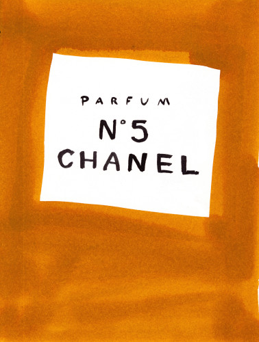 Chanel No. 5 illustration