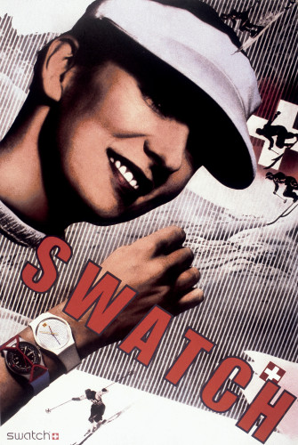 Swatch Watch USA Poster