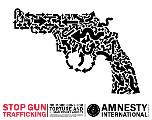 Stop Gun Trafficking poster