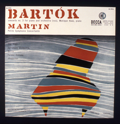 Bartok-Martin album cover