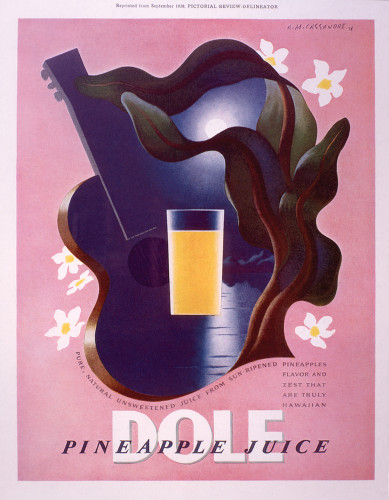 Dole pineapple juice advertisement