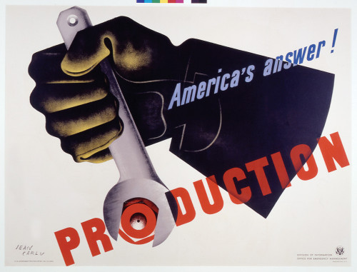 America's Answer: Production poster