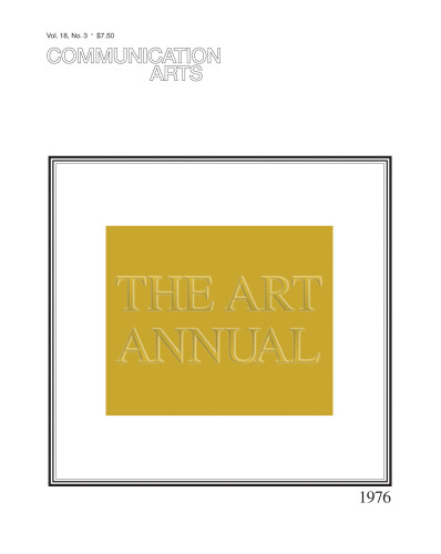 "Communication Arts ""The Art Annual"" cover"
