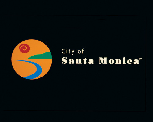 City of Santa Monica graphic identity