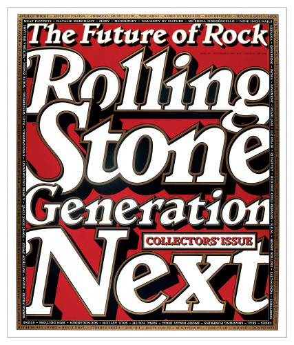 "Rolling Stone magazine ""Generation Next"" issue"