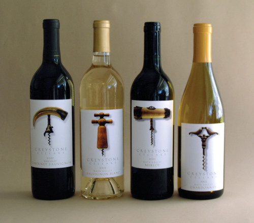 Greystone Wine labels