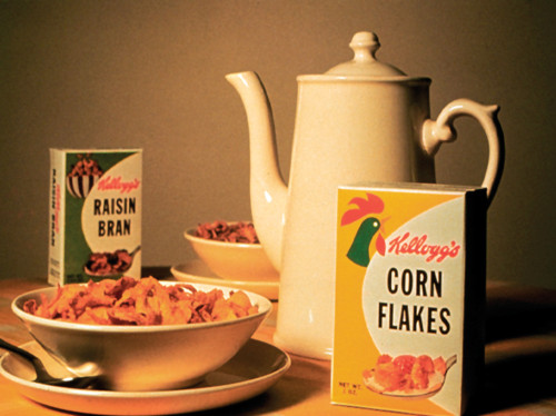 Kellogg's Corn Flakes packaging