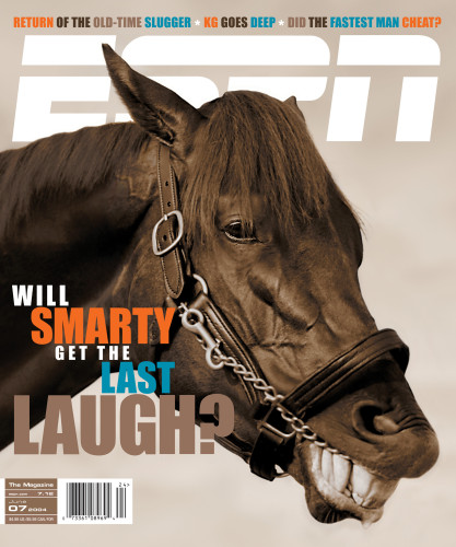 """Smarty"" cover, ESPN The Magazine"