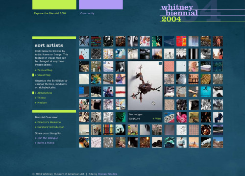 "Website, ""2004 Whitney Biennial"""