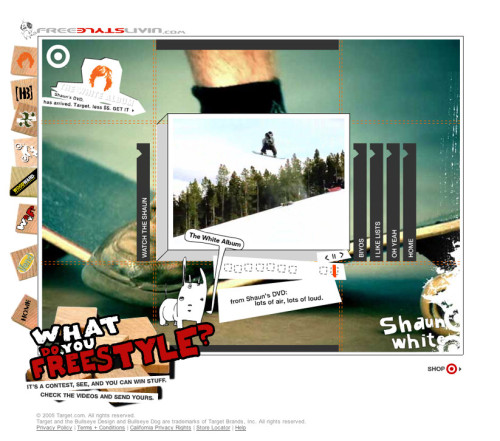 Interactive marketing campaign, Shaun White