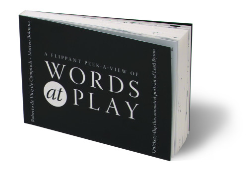 Words at Play flip book