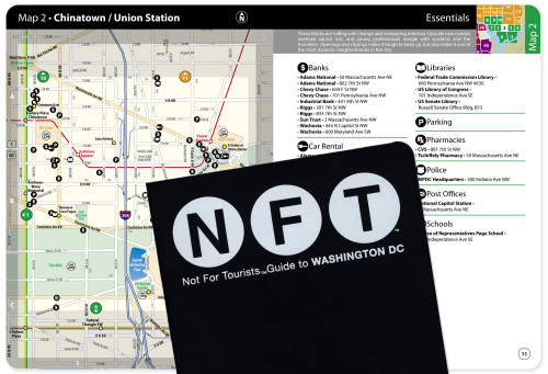 Not For Tourists Guide to Washington DC 2005