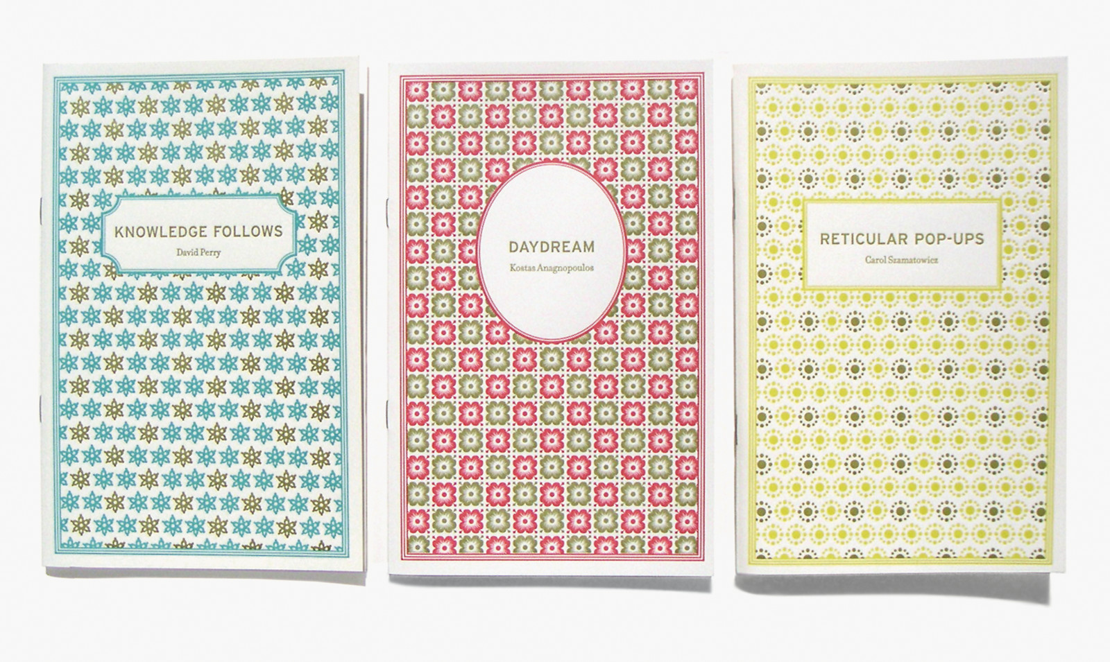 Insurance Editions chapbooks @ AIGA Design Archives