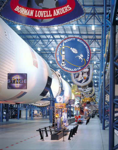 Apollo Saturn V Center exhibition