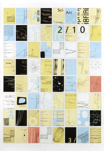 Southern California Institute of Architecture Spring Lecture Series Poster